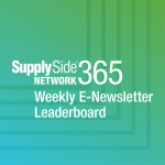 Weekly E-Newsletter Leaderboard